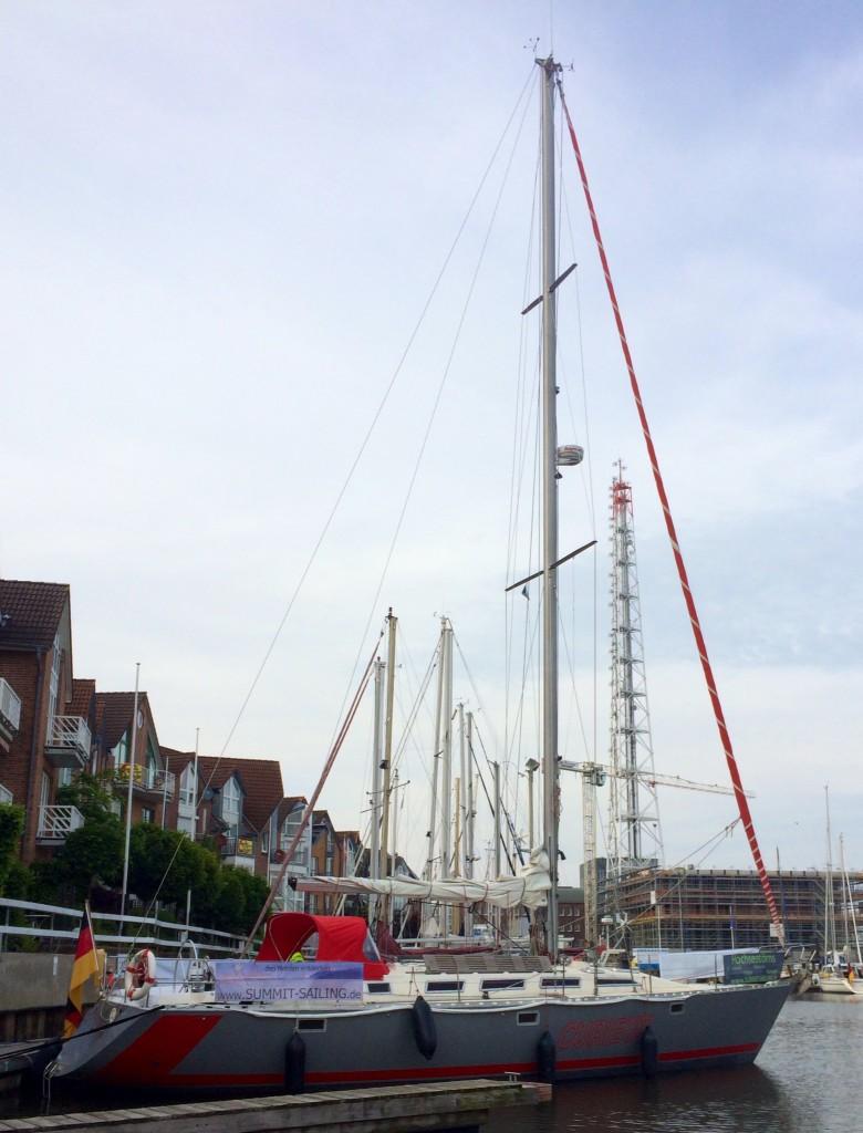 "Die Curieux in der ""City-Marina"" Cuxhaven"