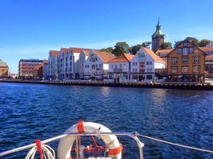 Der Hafen von Stavanger