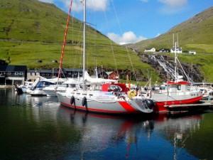 Die Curieux in Vestmanna auf den Färöer