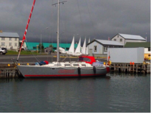 Törnbericht - SY Curieux auf Island