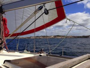 Curieux auf der Nordsee